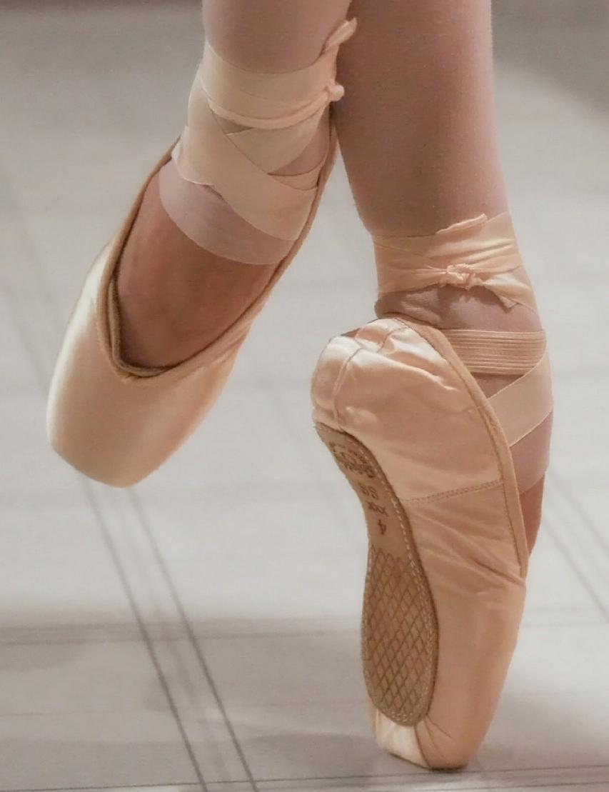 Balletttänzerin im Ballettkurs